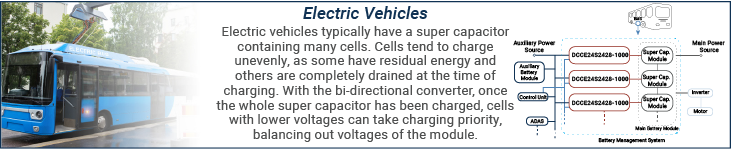 Bi-Directional Converters in Electric Vehicles