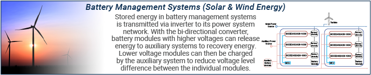 Bi-Directional Converters in Battery Management Systems
