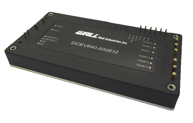 DCEV1000 Series of High-Voltage Input full brick Converters
